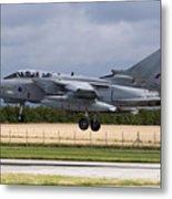 A Royal Air Force Tornado Gr4a Landing Metal Print