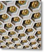 A Royal Ceiling Metal Print