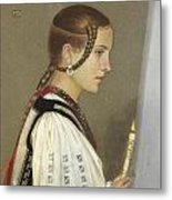 A Rumanian Bridesmaid Metal Print