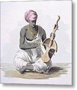A Sarinda, Or Hindostan Type Violin Metal Print