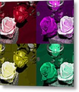 A Scent Of Roses Metal Print