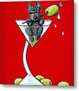 A Scottish Martini Metal Print by Kim Niles
