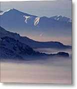 A Sea Of Clouds Metal Print
