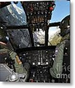 A Seaking Mk 4 Helicopter  Metal Print