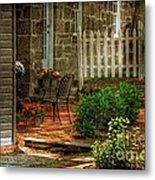 A Seat In The Shade Metal Print