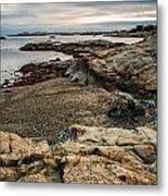 A Shot Of An Early Morning Aquidneck Island Newport Ri Metal Print