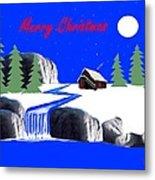 A Simple Christmas Metal Print