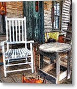 A Simpler Time II - Rural North Carolina Metal Print