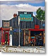 A Simpler Time Painted Version Metal Print