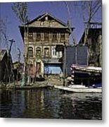 A Slightly More Run Down Section Of The Dal Lake Metal Print
