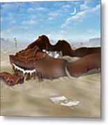A Slow Death In Piano Valley Metal Print
