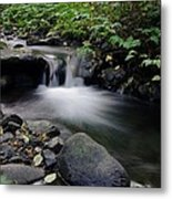 A Small Paradise Metal Print