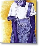 A Smile For You From Haiti Metal Print