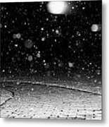 A Snowy Night Metal Print by Hannah Miller