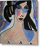 A Spanish Woman Metal Print