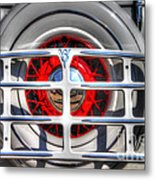Spare Tire Metal Print