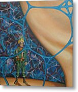 A Spelunkers Search For Life Metal Print