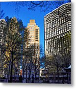 A Spring Day At Rittenhouse Square Metal Print
