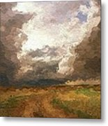 A Stormy Day Metal Print