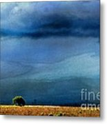 A Summer Rain Wc Metal Print
