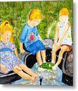 A Summers Day Metal Print
