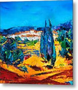A Sunny Day In Provence Metal Print