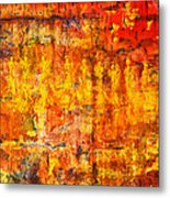 A Sunset Of Angels Metal Print