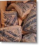 A Supply Of Flour Metal Print