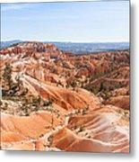 A Sweeping Vista At Bryce Canyon  Metal Print