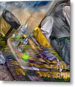 A Tale Of Two Worlds Metal Print