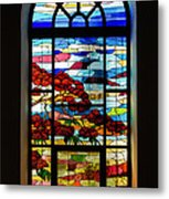 Another Tale Of Windows And Magical Landscapes Metal Print