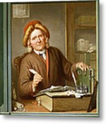 A Tax Collector, 1745 Metal Print by Tibout Regters