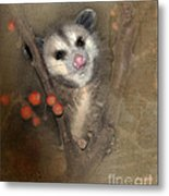 A Thief In The Night Metal Print