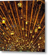 A Thousand Candles - Tunnel Of Light Metal Print