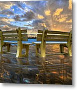 A Time For Reflection Metal Print