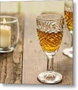 A Toast For Two Metal Print