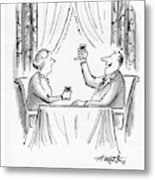A Toast To Everyman And The Human Condition Metal Print