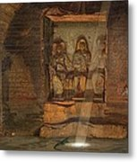 A Tomb At El-kab, One Of 24 Metal Print