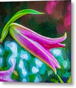A Touch Of Class 2 - Impasto Metal Print
