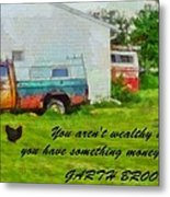A Touch Of Country Metal Print