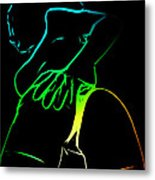 A Touch Too Much Metal Print by Steve K