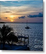 A Tranquil Conquering Of The Night Metal Print