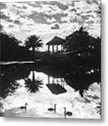 A Tranquil Scene In Hawaii Metal Print