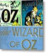 A Tribut To The Oz Metal Print