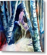 A Unicorn In The Distance Metal Print