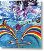 A Unicorn's Love Metal Print