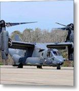 A U.s. Air Force Cv-22b Osprey Metal Print