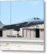 A U.s. Air Force F-15c Eagle Taking Metal Print