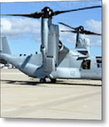 A U.s. Marine Corps Mv-22b Osprey Metal Print