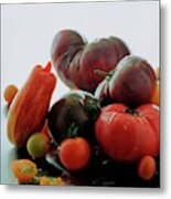 A Variety Of Vegetables Metal Print